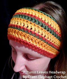 My Autumn Leaves Headwrap <3
