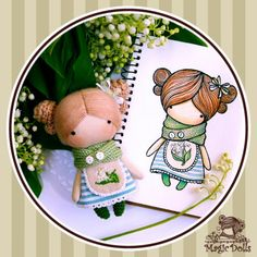 Ma Petite Poupee - Lily of the Valley h=11cm (for example, для примера)