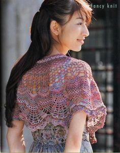 Crochetemoda: Pelerines de Crochê