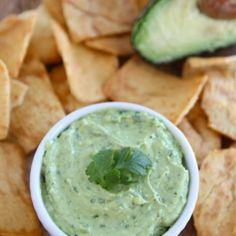 Greek yogurt avocado dip/spread