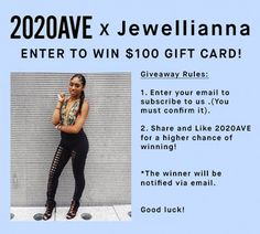 Win a $100 Gift Card to 2020AVE!