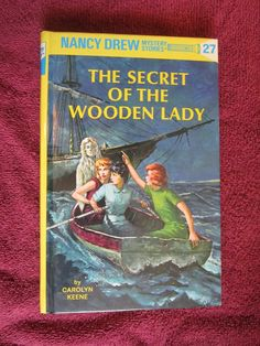 The Secret of the Wooden Lady by Carolyn Keene - Nancy Drew # 27 - 1995 ~~ For Sale At Wenzel Thrifty Nickel eCRATER store