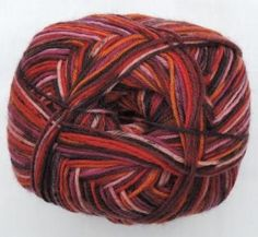 Hot Socks Stripes 4-fach superwash - Tutti frutti stripes 1661-620, 75% Merino superwash by ColorfullmadeShop on Etsy