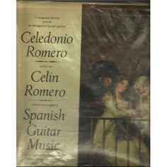 Celedonio Romero , and His Son Celin Romero Spanish Guitar Music, Lp
