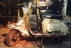 In 1957 the first 175 TV Series Best Scooter, Lambretta Scooter, Sidecar, Chopper, Abandoned, Antique Cars, Motorcycle, Bike, Scooters