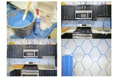 Boring No More: 18 Ways Colorful Grout Spices Up Dull Tile: Tip: Colorful Grout…
