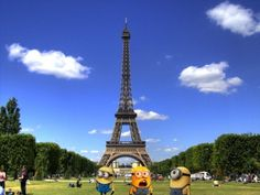 Despicable Me Funny Minions Wallpaper | despicable me minions in paris wallpaper by phantomfan1001 (click to ...