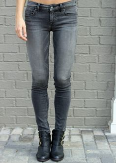 Hand In Pocket: Level 99 Liza Skinny- Grey-Aschen, grey jeans, grey denim #level99