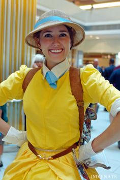 Jane from Tarzan cosplay, DragonCon 2012