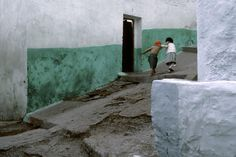 Town of Tangiers, Morocco, 1985 - by Bruno Barbey (1941), Moroccan