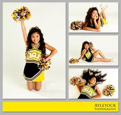 Cheer individual portraits - never thought I would need this