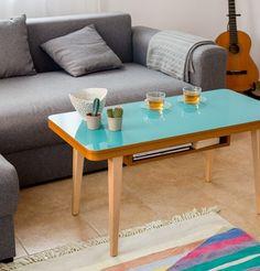 Stolik kawowy SOLO z kolekcji wood&paper