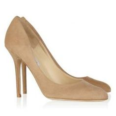 1db521531a9d Jimmy Choo Lovely Suede Pumps Neutral Pumps