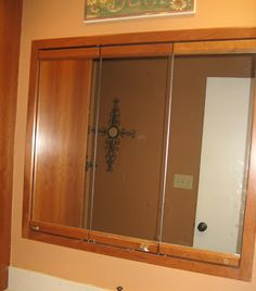 redo on pinterest medicine cabinets cabinets and oval mirror
