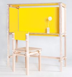 The Rotterdam-based duo Minale-Maeda created a collection of furniture designs that are completely downloadable – meaning you download the instructions and can get to work building them yourself. The Inside Out Furniture is a way of redefining how we, as consumers, have access to furniture.