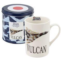 Vulcan Photographic White China Mug