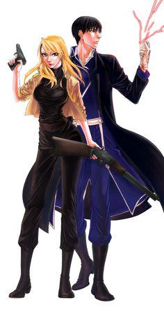 Roy and Riza /(FMA)