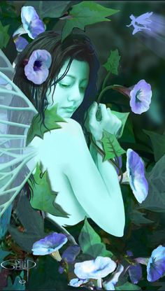 Digital Painting Fantasy Art, Creatures, World, Gallery, Art History, Nature, Anime, Painting, France