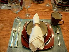 Make Placemats with Gift Bags in 3 Easy Steps!