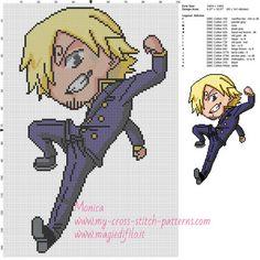 Sanji (One Piece) cross stitch pattern 100x145 15 colors.jpg (2.95 MiB) Viewed 270 times
