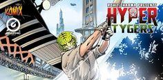 Indian Comics Fandom: Hyper Tygers Series (Graphic India)