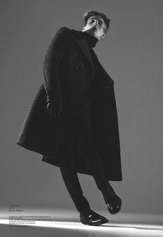 """Michael Lange by Ben Lamberty - Sleek magazine  Taken from Sleek 40 """"Man/Boy"""""""