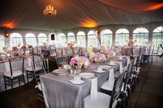 Sparkly Tent Wedding At Sparkling Pointe Vineyards North Fork Of Long Island Weddings Pinterest And