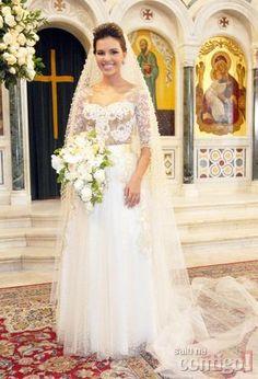 Salve Jorge: Veja detalhes do vestido de casamento da personagem de Mariana Rios