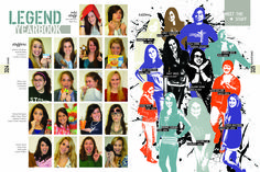 yearbook staff page ideas - Google Search