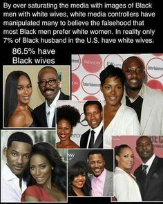 Media's deception would have us believe that there are more interracial marriages than black on black marriages. This is another lie. Black on Black live is revolutionary.