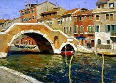 Vladimir Fedorovich Stozharov (1926 -1973) - Venice