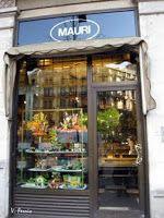 Pastisseria Mauri.Inició su actividad en 1929 gracias a la iniciativa de su fundador, D. Francesc Mauri Ciuró. Provença, 241 - Rambla de Catalunya, 102 Barcelona.