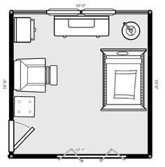 Nursery layout plan ideas