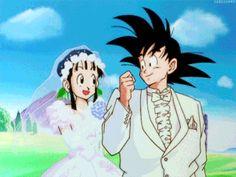 Goku y Milk GIF - Dragon Ball Z