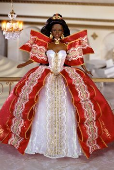 1997 Happy Holidays® Barbie® Doll | Barbie Collector. Habe this one. . except she is white. .