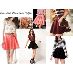 cute skirt outfits