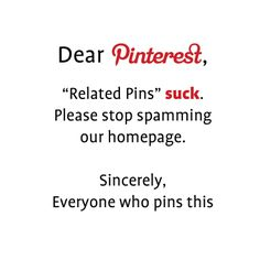 """If you hate the new """"Related Pins"""" feature, pin this!"""