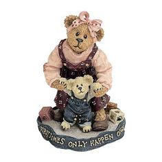 Amazon.com - Boyds Bears - Momma with Taylor First Steps - #227768 - Collectible Figurines+