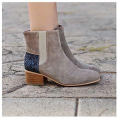 Lonesome Detail, modèle Sam, #shoes #girl #women #woman #glitter #blue