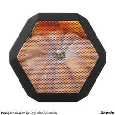 Pumpkin Season Black Bluetooth Speaker