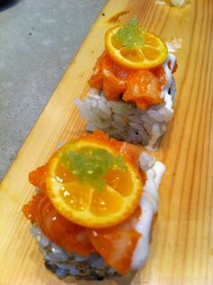 A nice day calls for a custom made refreshing roll!