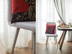 table, chair, decoration, photo: Kasia Bobocińska Eames, Chair, Decoration, Table, Furniture, Home Decor, Decor, Decoration Home, Room Decor