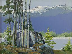 Robert Genn Artwork in Canada House Gallery Watercolor Landscape Paintings, Artist Painting, Landscape Art, Canadian Painters, Canadian Artists, Vancouver Art Gallery, Canada House, Acrylic Art, Acrylic Paintings