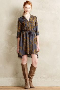 Calista Shirtdress - anthropologie.com
