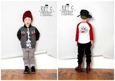 Lovely boys collection from London's Ruff & Huddle brand