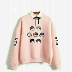BTS ❤ ♥ ❤ B.S. Bts Hoodie, Bts Shirt, Kpop Fashion Outfits, Korean Outfits, Bts Clothing, Bts Inspired Outfits, Kpop Merch, Look Cool, My Outfit