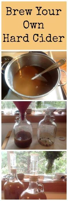 How to Make Hard Cider Part 1: Brew it! ~ Simple and…