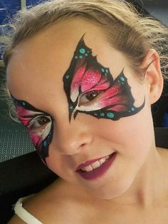 "butterfly face paint design  {It's a Bug's Life- Girl Scouts of Northern Illinois Council's Own Patch}  [Step One] Hold a dance in which you learn different ""bug"" moves like the Jitterbug, the Worm, etc.  enhance the dance by making your own bug mask to masquerade yourself."