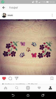 Cross Stitch, Decor, Towels, Punto De Cruz, Dots, Cooking, Needlepoint, Papillons, Flowers