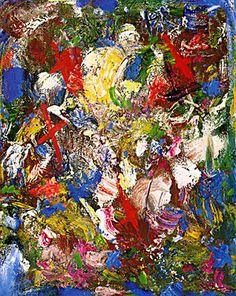 Color Poem No 6 by Hans Hofmann, 1954 Oil on Canvas